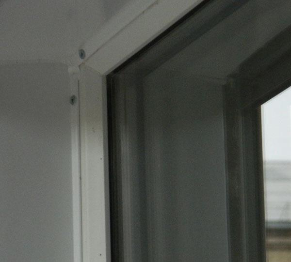 Установка нащельников на пластиковые окна своими руками 55